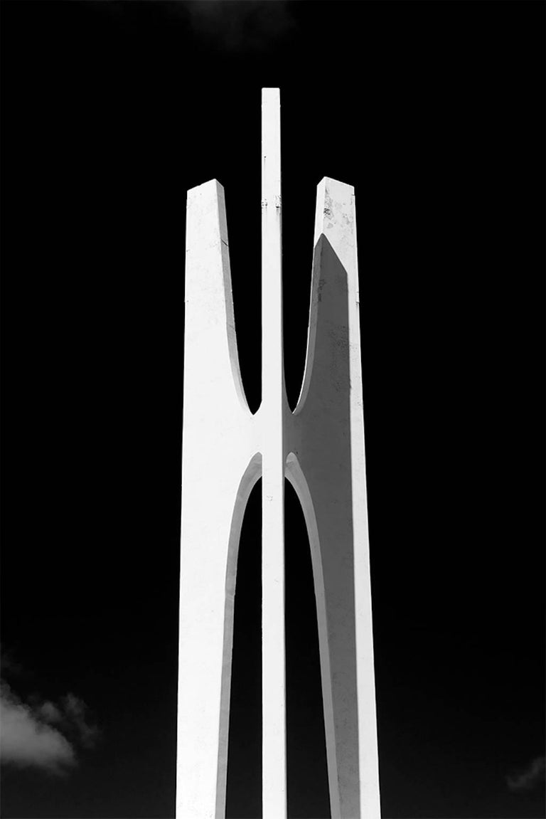 Luca artioli miami abstractions large black and white photograph