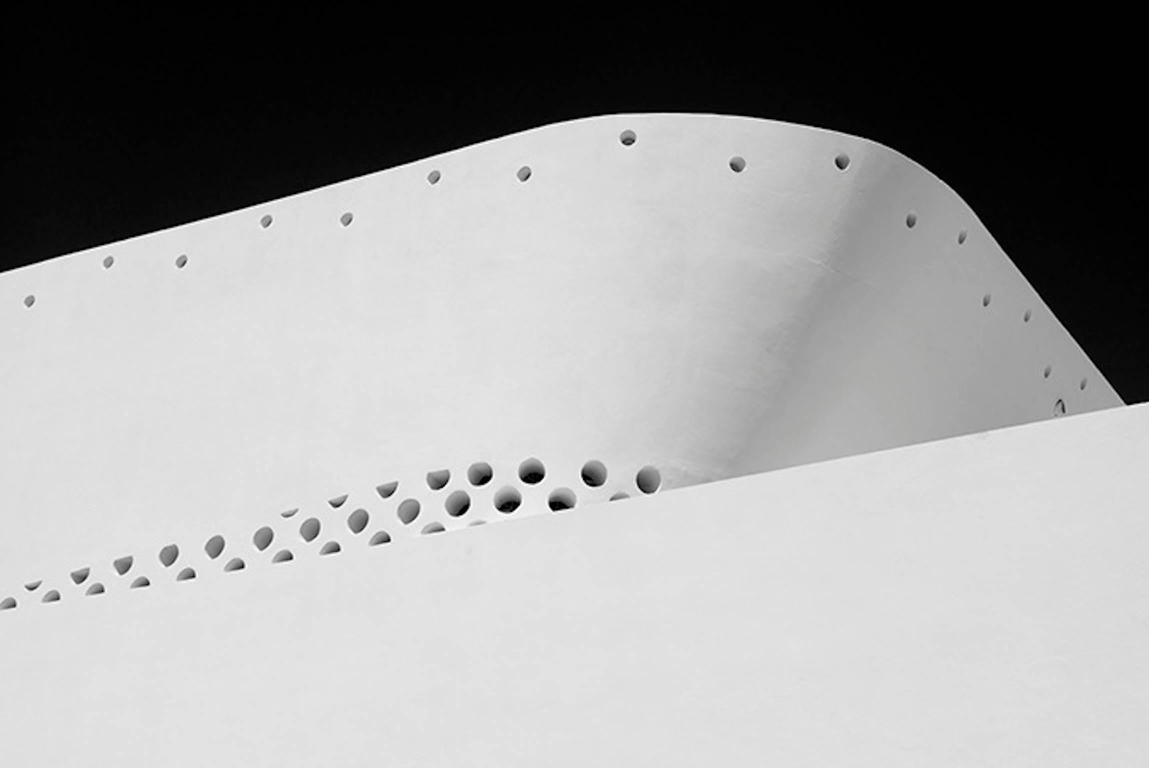 Miami Circles 1. Black and White Architectural Photograph, 2014