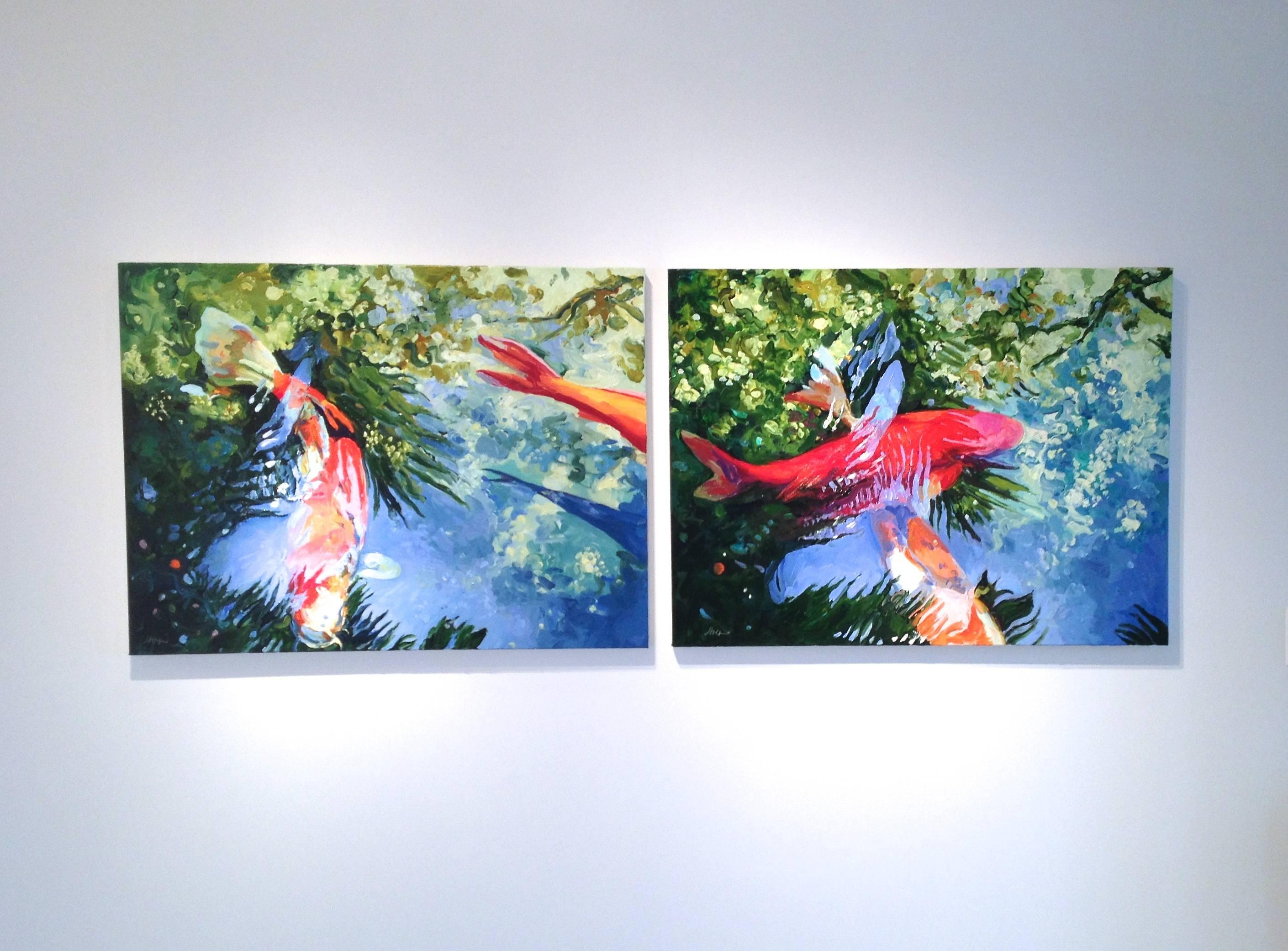 """""""Linda Holt:  Recent Koi & Abstractions"""""""