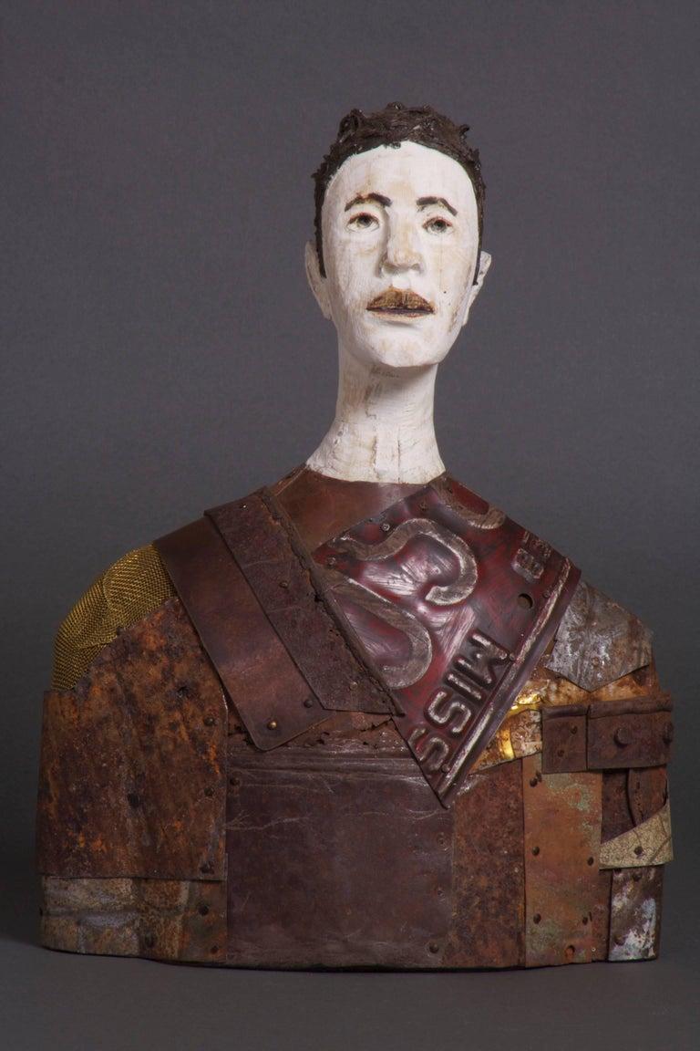 Joe Brubaker Figurative Sculpture - Jorge