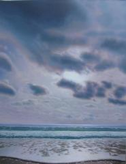 Sea and Sky in Hazy Sun