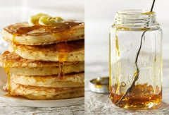 """Pancakes and Syrup"" Modern Photography Still-Life Food Pop Sensibility"