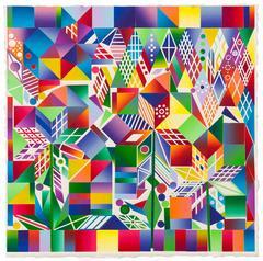 Polly Apfelbaum - Atomic Mystic Puzzle 1