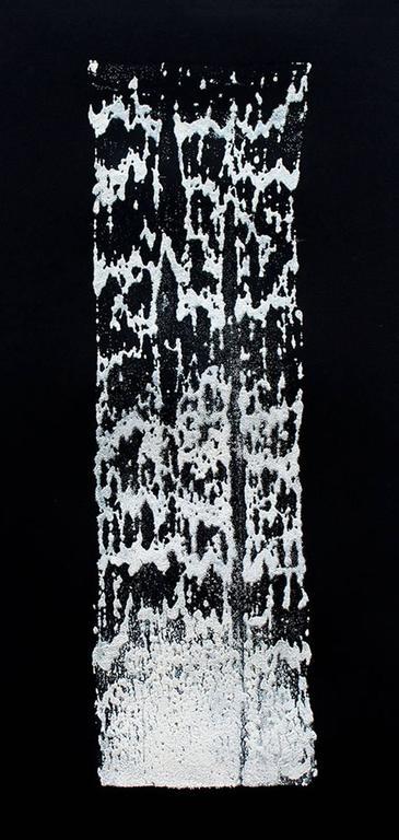 James Nares Abstract Print - Road Paint Print 8