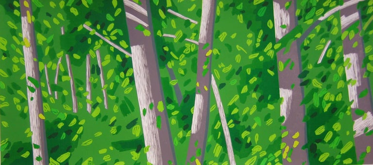 Forest Woodcut