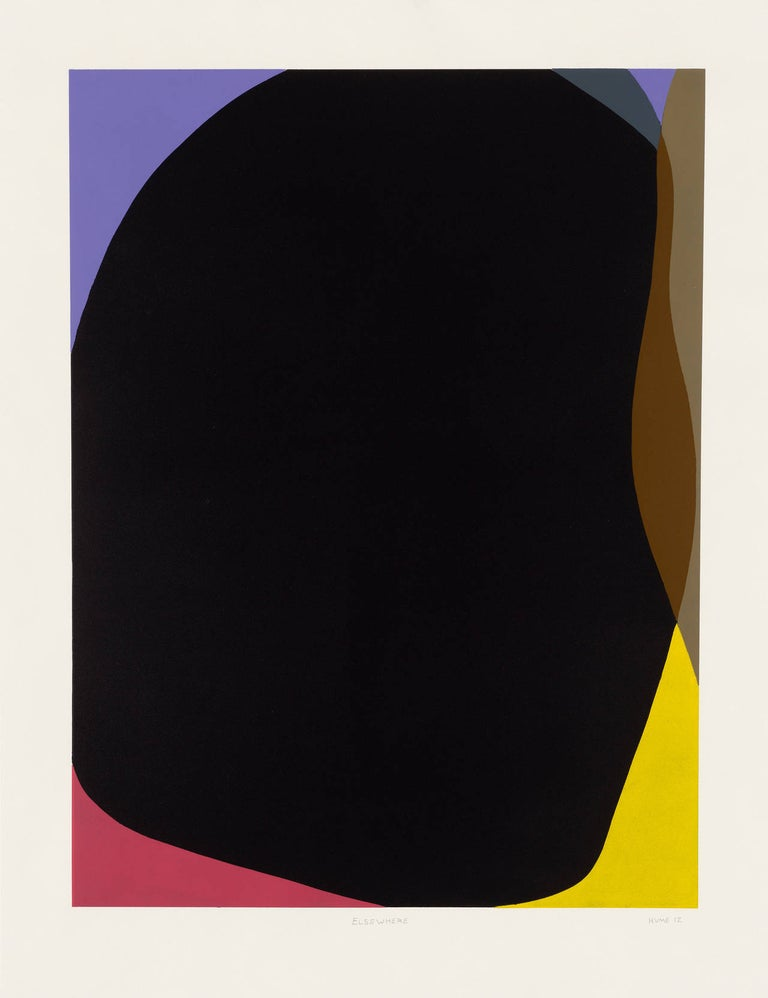 Gary Hume Portrait Print - Elsewhere