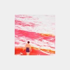 Wading II (Pink)