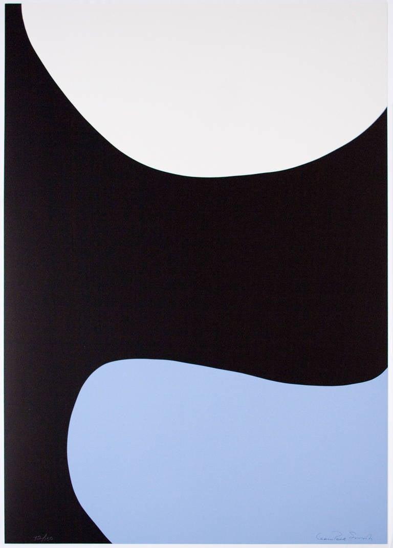 Leon Polk Smith Abstract Print - Color Forms (D)
