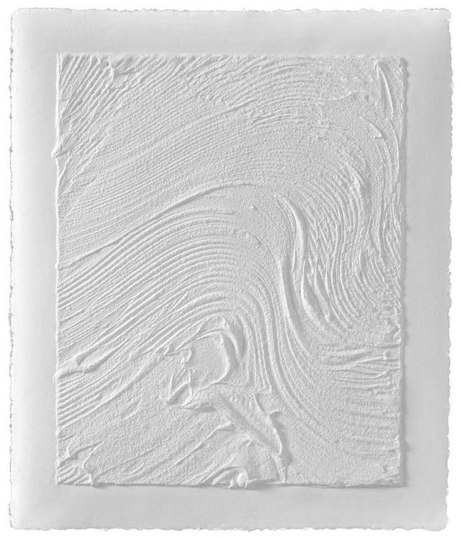 Jason Martin Abstract Print - Untitled (Plate I)
