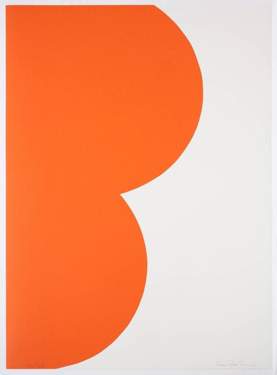 Leon Polk Smith Abstract Print - Color Forms (B)