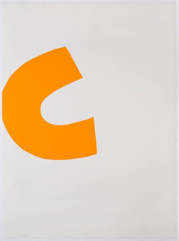 Leon Polk Smith Abstract Print - Color Forms (C)