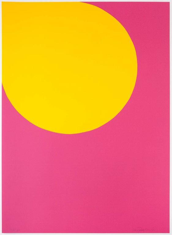 Leon Polk Smith Abstract Print - Color Forms (F)