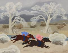 Untitled - Two Riders in Winter