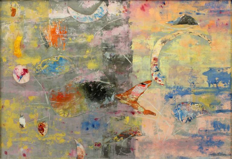 Beatrice Mandelman Mixed Media Art - Things that Happen at Night