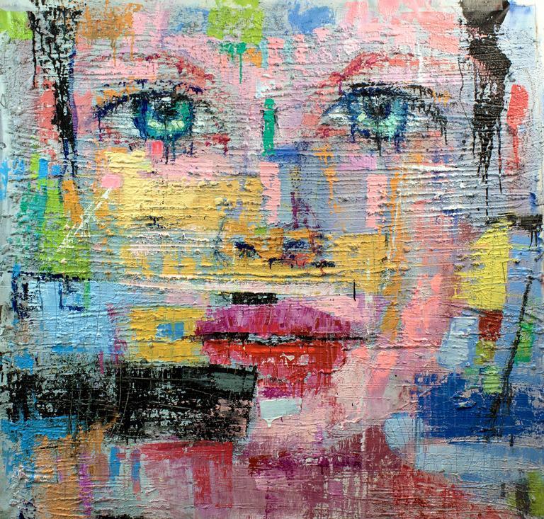 Fabio Modica Figurative Painting - Gnosis...Love