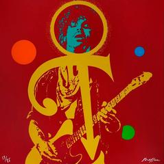 Prince : The Love Symbol - Original hand signed silkscreen - 85 copies