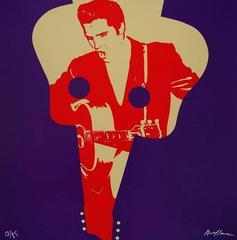 Elvis Presley - Original handsigned silkscreen - 85 copies