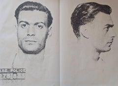 Andy WARHOL : The thirteen most wanted, orginal screen print