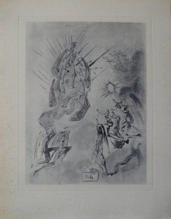 Dante recouvre la vue - Engraving - 150 copies