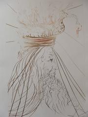 "Le roi Marc (""King Marc""), Original etching, Handsigned"