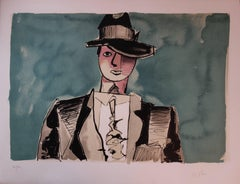 American Prohibition Gangster - Original handsigned lithograph - 100 copies