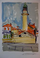 The Lighthouse - Original handsigned lithograph