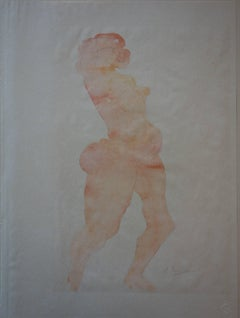 Nude (1920) - stencil, plate signed