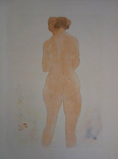 Young lady (1920) - stencil