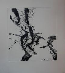 Abstract Composition - Original etching and aquatint - 130 copies