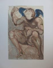 Purgatory 15 - The Envy -woodcut - 1963
