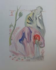 Purgatory 21 - The Spring - woodcut - 1963