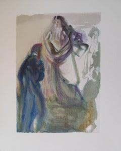 Heaven 28 - The Movement toward God - woodcut - 1963