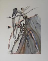Purgatory 4 - The Negligent - woodcut - 1963