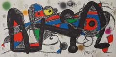 Joan Miró - Escultor : Portugal - Original lithograph - 1974