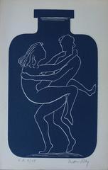 Love in a Bottle - Original handsigned etching - 150ex