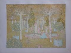 le Parc - Original lithograph (1897/98)