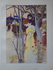 Crépuscule - Original lithograph (1897/98)
