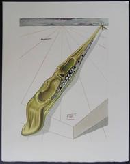 Blasphemers - woodcut - 1963