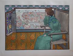 Solveig -  Original litograph (1897/98)