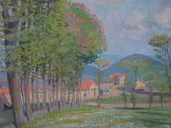 Boccage in Normandy - Original signed Oil on Canvas
