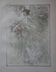 Spring - Original lithograph - 1897