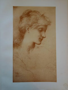 Beauty - Original lithograph - 1897