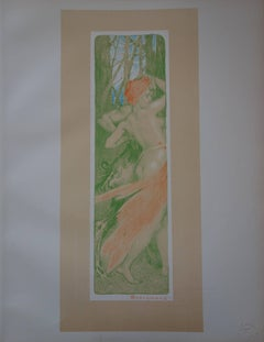 Renewal - Original lithograph - 1897