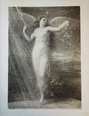 Immortality - original lithograph (1897/98)