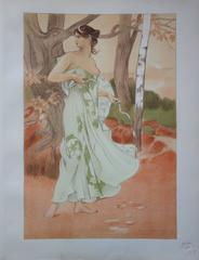 Artémis - Original lithograph (1897/98)