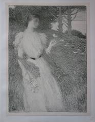 Soir d'octobre - original lithograph (1897/98)