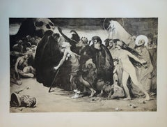 Le chemin de la mort - original lithograph (1897/98)