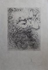 Jules Verne - Original handsigned etching - 1966