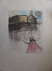 The Glory that was Spain's - Original handsigned etching - 1975