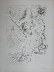 Venus - Original Handsigned etching - 1974